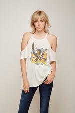 Wolfmother Cold Shoulder Tee