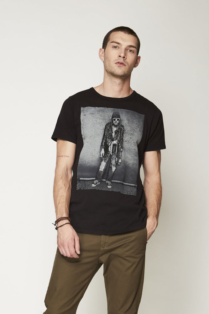 Kurt Cobain Grey Sunglasses Short Sleeve - Trunk Ltd.