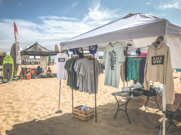 Clean Ocean Clothing Beach Shop Tent