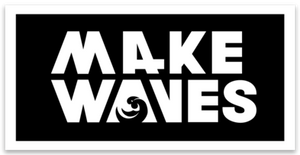 Make Waves Sticker