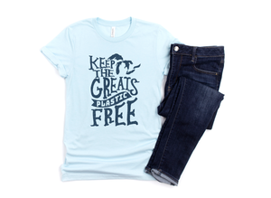 Keep the Greats Plastic Free Unisex Tshirt