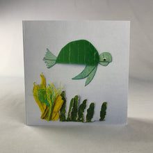Sea Turtle Square Greeting Card