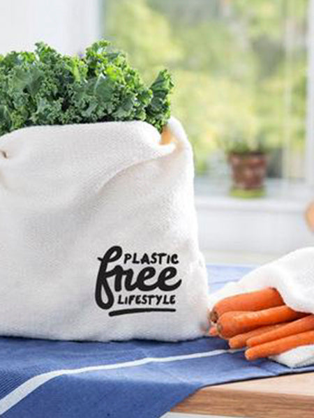 Plastic Free Lifestyle Tote Bag and Produce Bag
