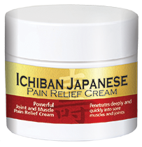 Ichinban Japanese Pain Relief Cream - With 100% pure Hemp Extract