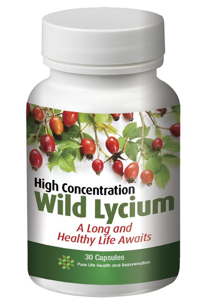 High Concentration Wild Lycium - Highly Concentrated Anti-Oxidants