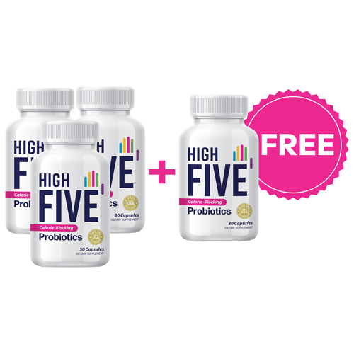 High Five Probiotics - Healthy Gut for Optimal Weight Loss
