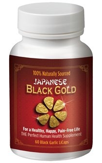 Japanese Black Gold - Pure Black Garlic Extract