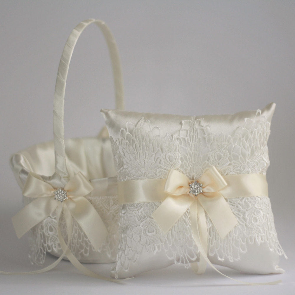 il lace wedding listing ivory fullxfull zoom blush ring pillow bgtw
