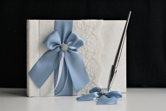 ed5ddb9ba95 Steel Blue Garter Set