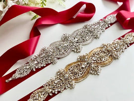 Marsala Bridal Belt, Hen Party Sash, Rhinestone Sash, Red Bridal Belt Sash, Maroon Wedding Belt, Chrystal Belt, Bridal Sash, Wedding Sash