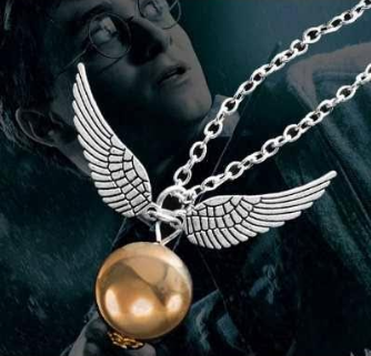Colar Poma de Ouro - Harry Potter