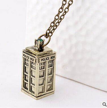 Colar Tardis - Doctor Who