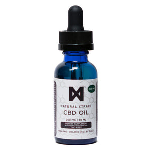 NaturalXtract CBD Tincture - Flavorless | 250mg, 500mg or 1,000mg