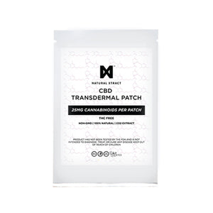 NaturalXtract CBD Transdermal Patch (25 MG)
