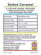 Flower Power CBD-Infused Caramels | 3-Pack (15mg CBD)