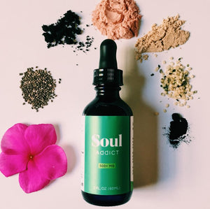 Soul Addict Elixir CBD Tincture - Flavorless | 250mg or 500mg