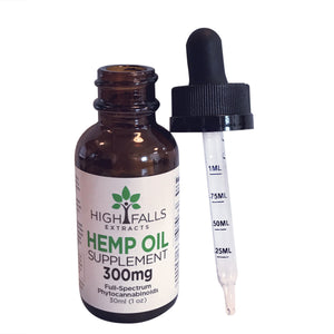 High Falls CBD Tincture - Flavorless | 300mg, 750mg or 1,500mg
