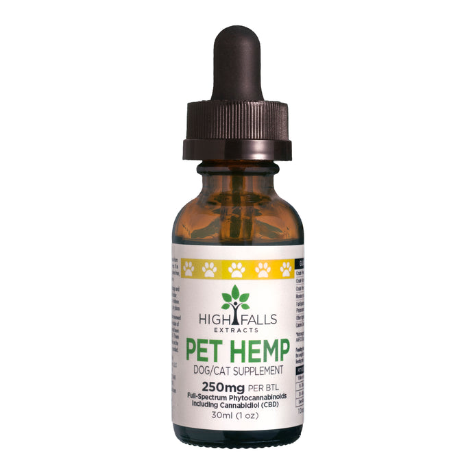 High Falls Pet Tincture | For Dogs or Cats (250mg)