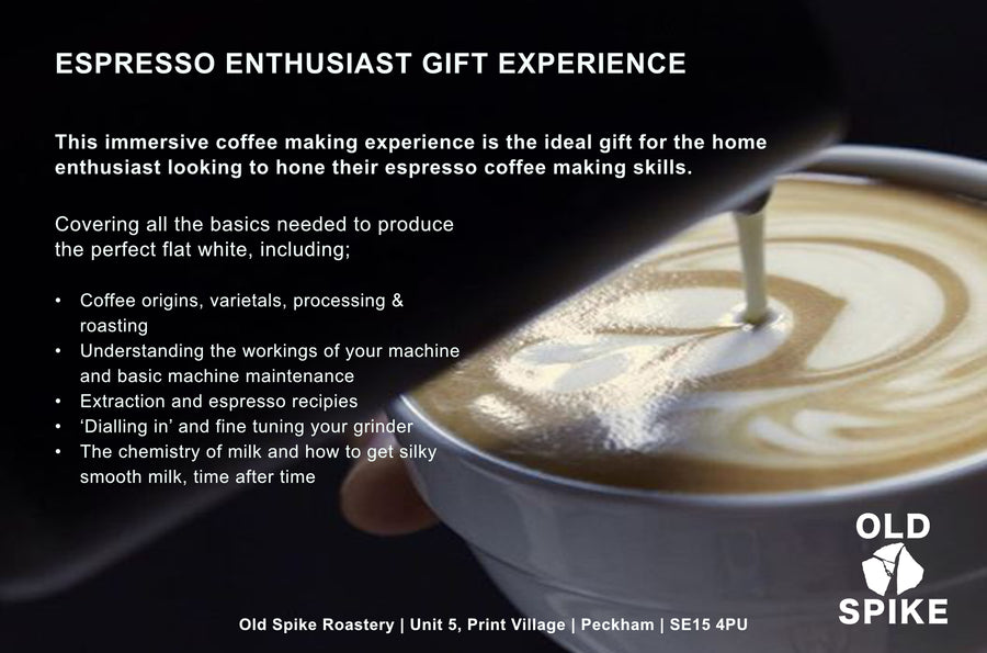 Espresso Enthusiast Gift Experience - for two