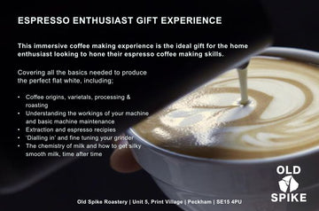 Espresso Enthusiast Gift Experience - for one
