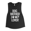 DOG MOTHER JEEP LOVER MUSCLE TEE
