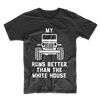 MY JEEP RUNS BETTER THAN THE WHITE HOUSE UNISEX T-SHIRT