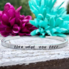 Live What You Love Handmade Jeep Girl Bracelet (Stampin Stitchin)