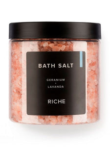 Соль для ванн Лаванда + Герань (680 г) - RICHE Cosmetics Latvia