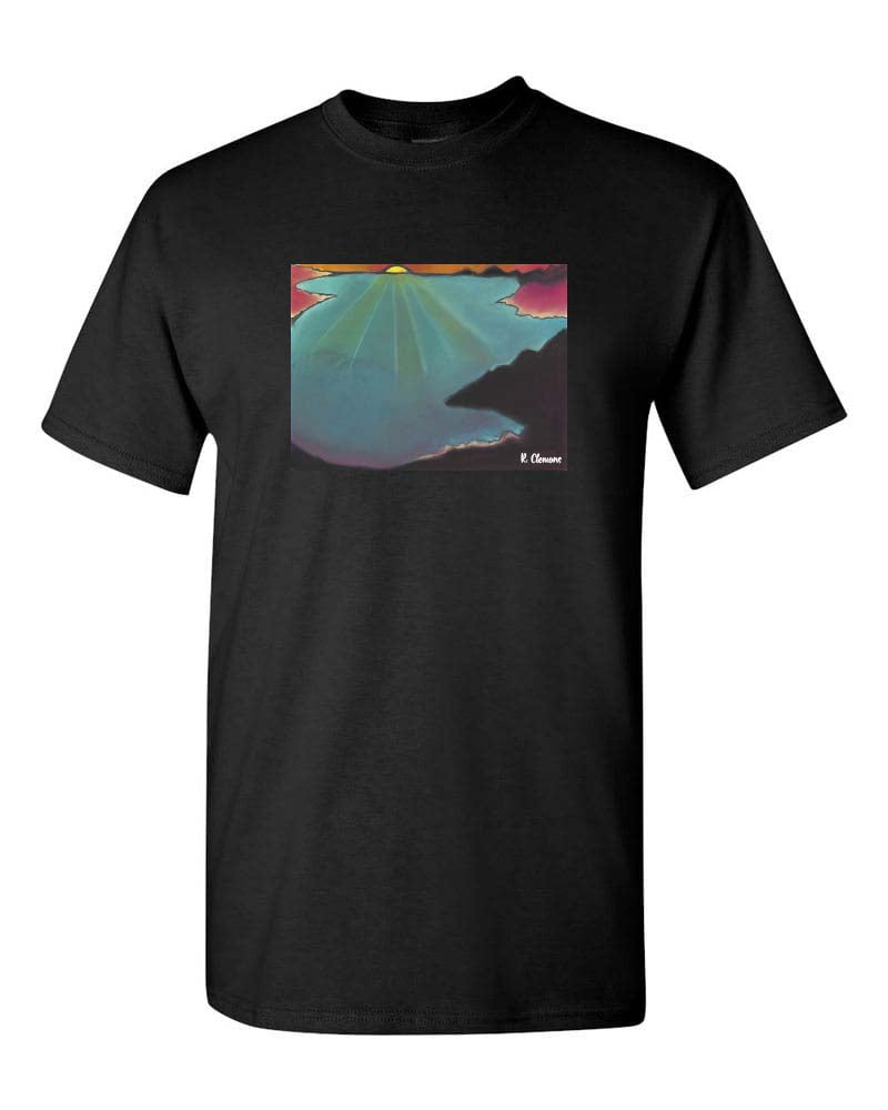 Black Sunset tee