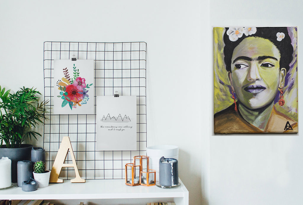 Forever Frida canvas by Art Racc