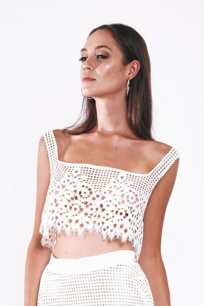 BAHIA LACE TOP