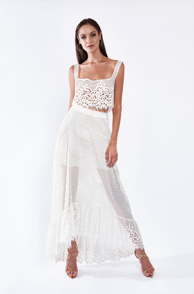 BAHIA LACE SKIRT