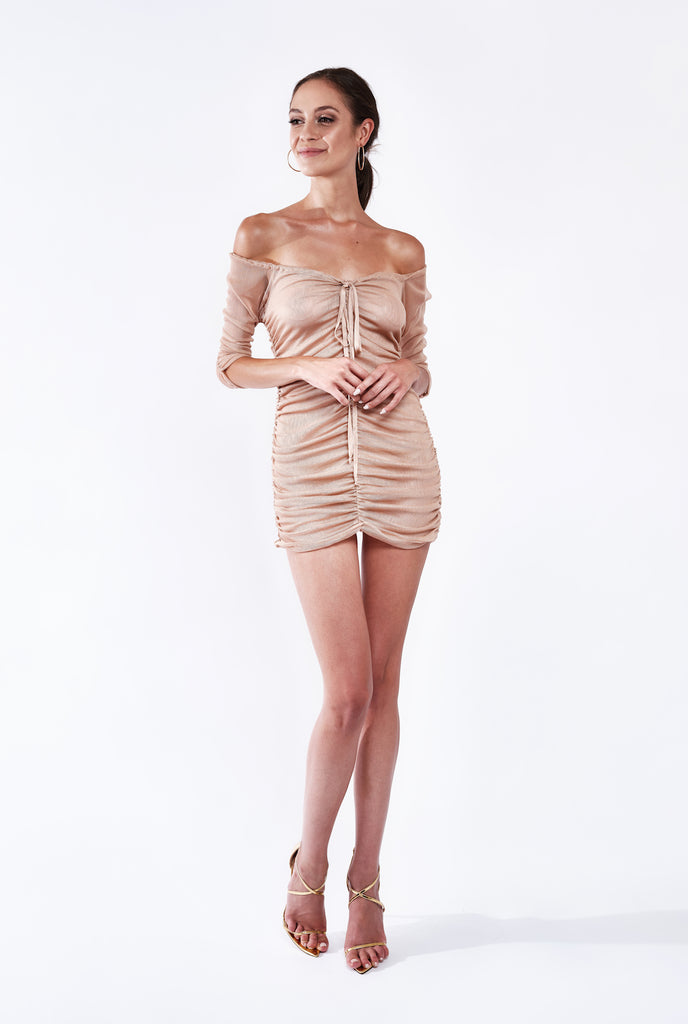 ILINA SILK DRESS