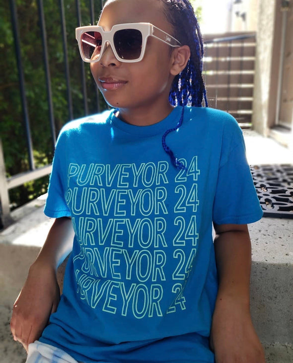 Youth Purveyor 24 Logo Tee