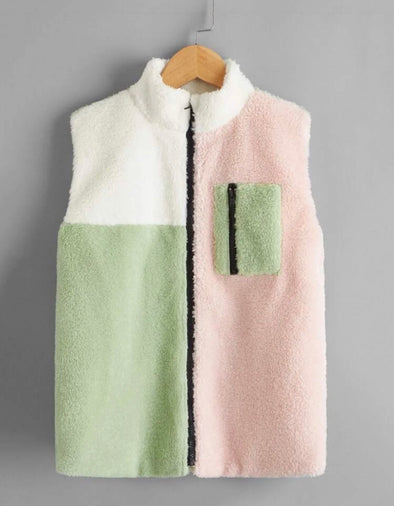 Color Block Vest