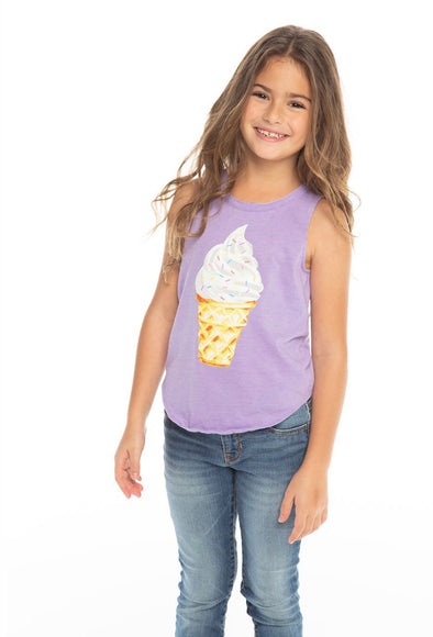 Sprinkles Ice Cream Tank by Chaser Kids