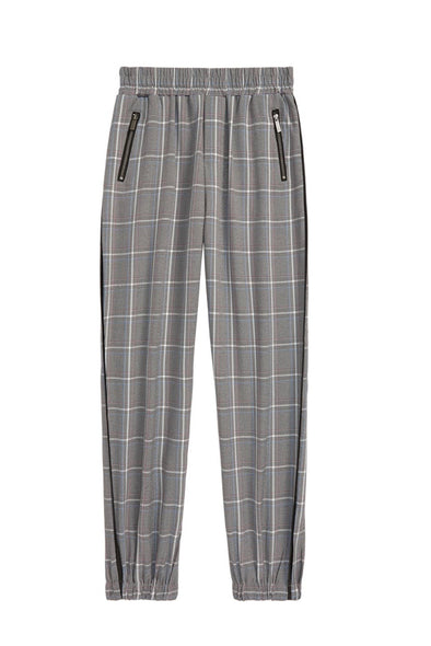 Plaid Joggers by Habitual Girls