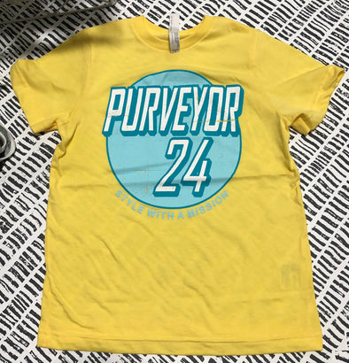 Purveyor 24 Retro Logo Tee