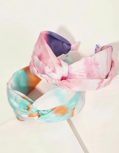 Tie Dye Pattern Headbands