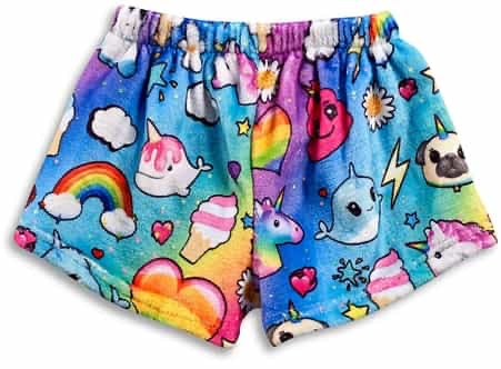Unicorn Vibes Sleep Shorts