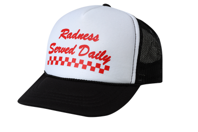 Radness Served Daily Hat by Tiny Whales