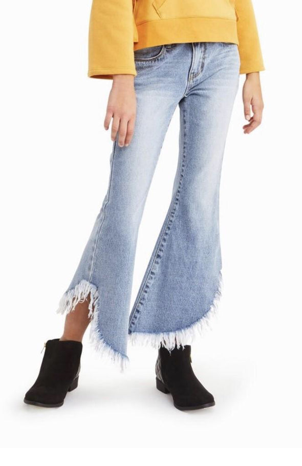Isabelle Frayed Hem Jeans by Habitual Girls