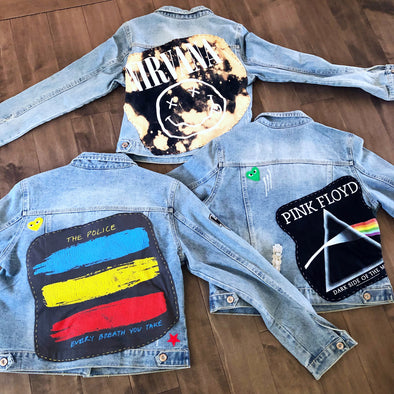 Custom Denim Jackets by Nue Collection