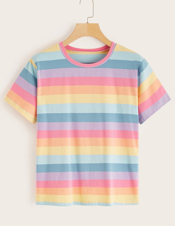 Bright Stripes Tee