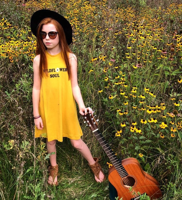 Wildflower Soul Dress by Tiny Whales