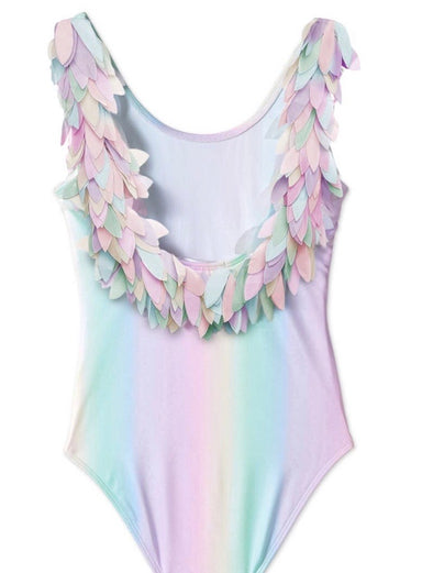 Rainbow Feather Swimsuit by Stella Cove