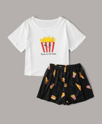Fries Pajamas