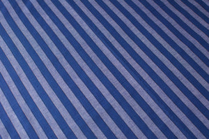 Sri Lankan Cotton - Blue Stripe - Tukuru Textiles