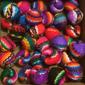 Fabric beads - small - Tukuru Textiles