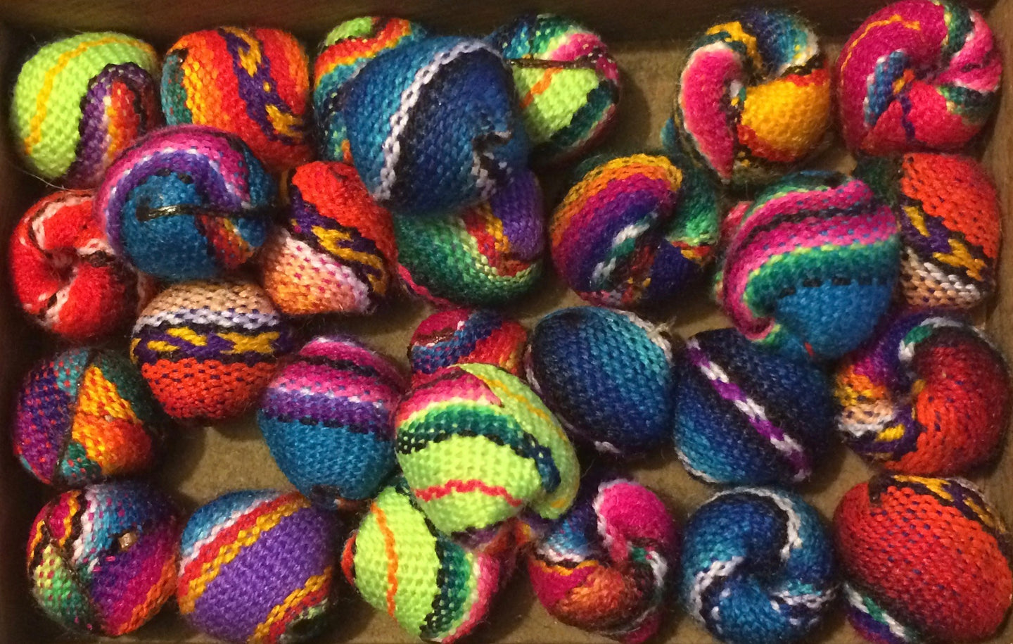 Fabric beads - large - Tukuru Textiles